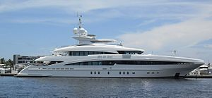 luxury yacht man of steel in Fort Lauderdale´s...