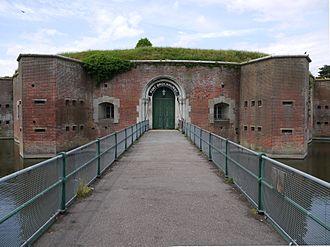 Fort Brockhurst - Fort Brockhurst entrance