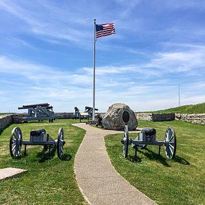 Harbor Defenses of New Bedford - Fort Phoenix.