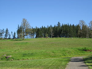 Fort Yamhill - The hill at Fort Yamhill in 2007