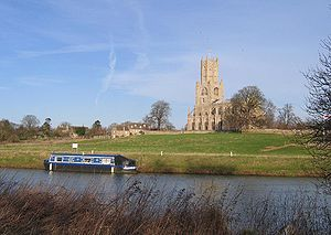 Fotheringhay, across the River Nene