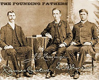 Samuel Marinus Zwemer - James Cantine, J.G. Lansing, and Samuel M. Zwemer, Founding Fathers of Arabian Mission for the Reformed Church of America