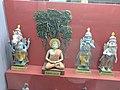 Four Avatars of Lord Vishnu From Left to Right -(Kalki,Buddha,Krishna,Rama) Displayed at Shankar's International Dolls Museum, Delhi, India.jpg