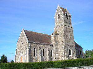 Amayé-sur-Seulles - Image: France Normandie Amaye Sur Seulles Eglise