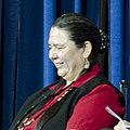 Frances Charles, Tribal Chairwoman, Lower Elwha Klallam Tribe 2012 (cropped).jpg