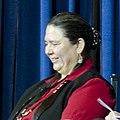 Frances Charles, Tribal Chairwoman, Lower Elwha Klallam Tribe 2012 (cropped).jpg