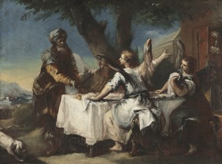 Abraham Welcoming the Three Angels