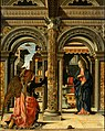 Francesco del Cossa - The Annunciation - Google Art Project (without predella).jpg