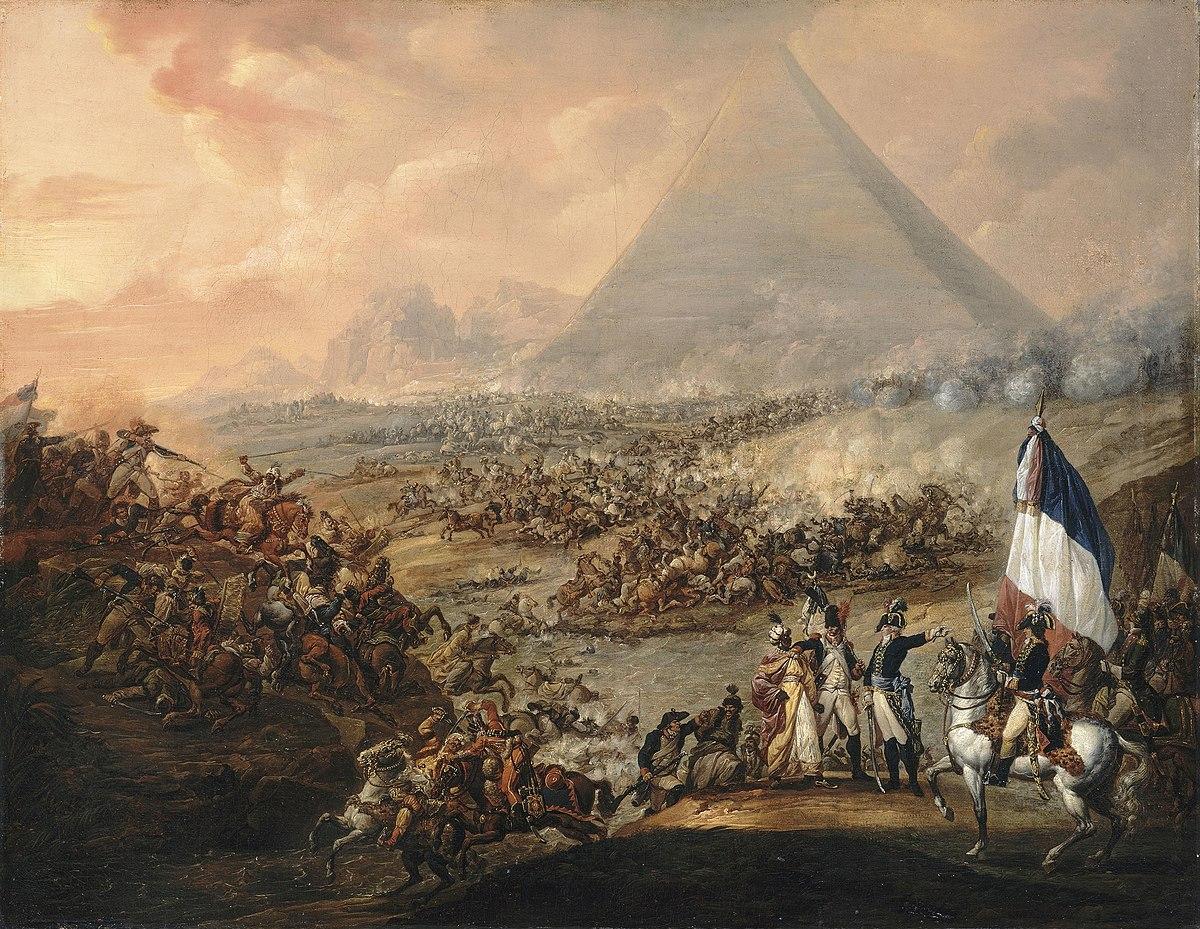 """Резултат с изображение за """"завладяването на Египет Наполеон"""""""