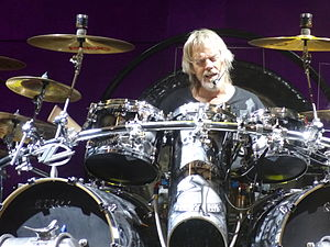 Frank Beard (musician) - Beard performing with ZZ Top in 2014
