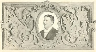 Frank Pierce Milburn - Portrait of Milburn from his self-published book