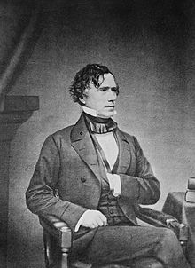 Franklin Pierce vers 1855.