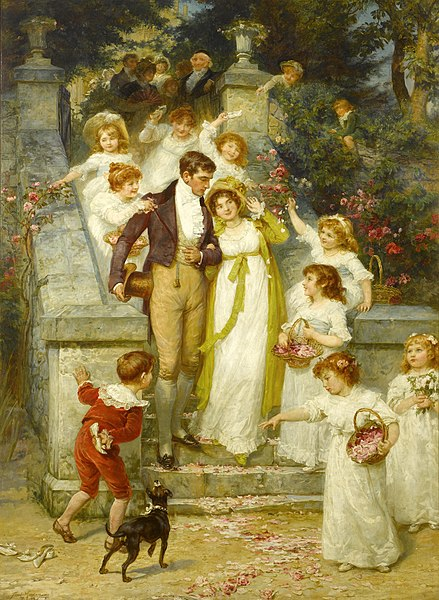 File:Frederick Morgan - Off for the Honeymoon.jpg