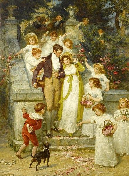File:Frederick Morgan - Off for the Honeymoon.jpg