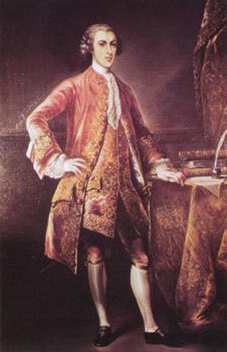 Baron Baltimore - Frederick Calvert, 6th and last Baron Baltimore, (1731–1771)