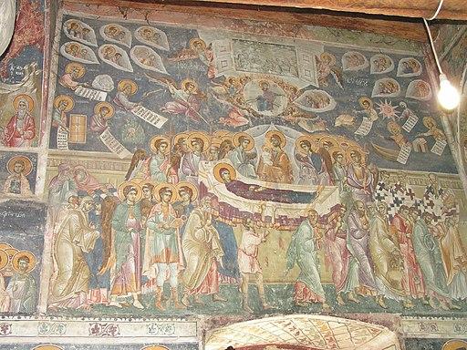 Frescos in St. George's Church (Staro Nagoricane) 042