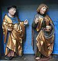 Friesach - Deutschordenskirche - Frankfurter Altar - Vitus und Johannes der Evangelist.jpg