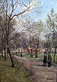 Frits Thaulow - The Park of the Royal Palace, Oslo - NG.M.03139 - National Museum of Art, Architecture and Design.jpg