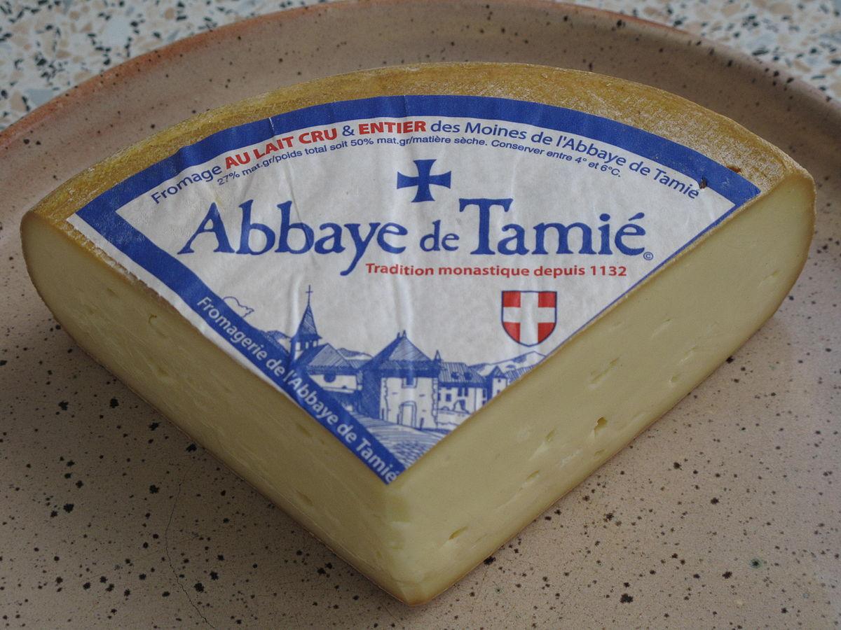 Fromage abbaye de Tamié
