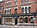 Front of Victoria Hotel, Leeds.JPG