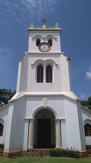 Mangalore - St. Paul's Church was built by the British army in 1843.