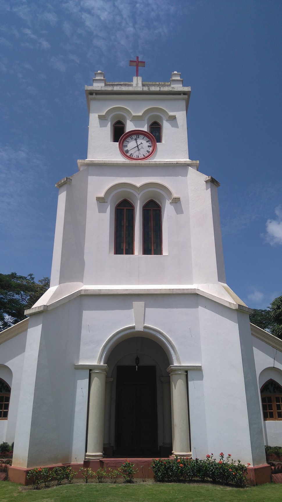 Front view of St. Paul's Church, Mangalore
