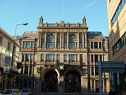 Frontage of former Liverpool Exchange railway station (2).JPG