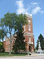 Fulton County Courthouse in Wauseon, southeastern angle.jpg
