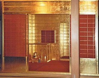 Fushimi Castle - Golden Tea Room in Fushimi Castle