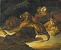 GERICAULT Théodore (attribué) - LIONS COUCHES, RF 3962.jpg