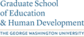 GWU Graduate School of Education and Human Development logo.png