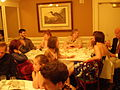 Galatoire's dinner table 2009.jpg