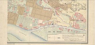 Garden City, Cairo - Image: Garden City area in the 1870s
