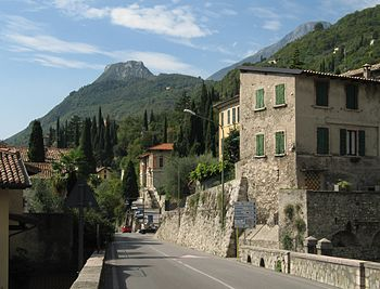 Village of Gargnano, Lake Garda/Italy