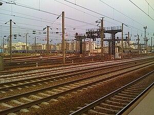 Clichy, Hauts-de-Seine - Railway station.