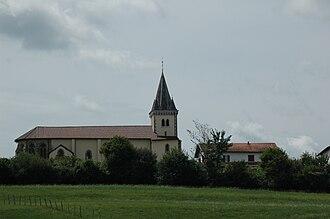 Garris, Pyrénées-Atlantiques - The church of Saint-Félix, in Garris