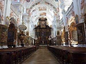 Garsten Abbey - Garsten Abbey Church - interior