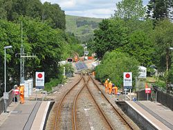 Garve level crossing upgrade works (14573636823).jpg