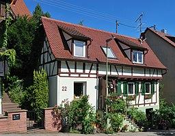 Dobelstraße in Leonberg
