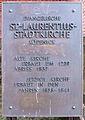 Gedenktafel Alt-Köpenick 9 (Köpe) St. Laurentius-Stadtkirche (Berlin-Köpenick).jpg