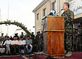 Gen. Murad Ali Murad said goodbye to U.S., Coalition Forces, and 209th Corps troops during a farewell ceremony (4781874741).jpg