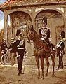 Gendarmen des Großherzoglich Hessischen Gendarmeriekorps 1902.jpg