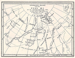 George William Manby - Map of Manby's journey in 1821