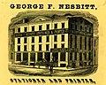 George F. Nesbitt - Stationer and Printer 1991.077.0059-verso-detail.jpg