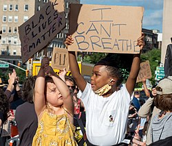 George Floyd protest in Grand Army Plaza June 7 (73297).jpg