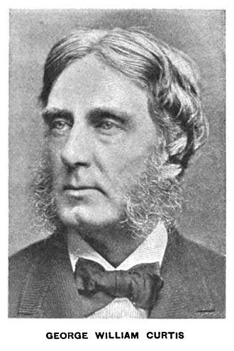 George William Curtis - Curtis circa 1890