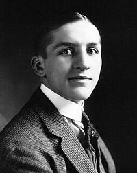 Georges Carpentier en 1914.