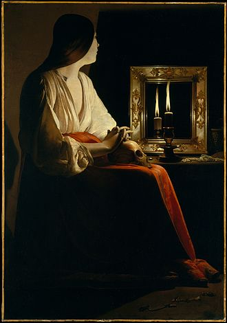 Georges de La Tour - The Penitent Magdalene, 1625-1650, Metropolitan Museum of Art