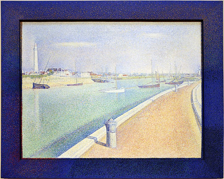 File:Georges seurat, il canale a gravelines, petit fort philippe, 1890, 01.jpg