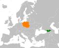 Georgia Poland Locator.png